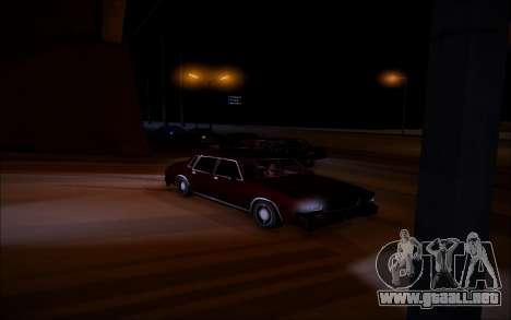 ENBSeries Wade Coronos para GTA San Andreas sucesivamente de pantalla