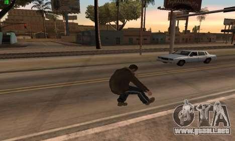 Animaciones de GTA 4 para GTA San Andreas