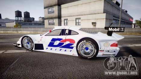 Mercedes-Benz CLK LM 1998 PJ1 para GTA 4 left
