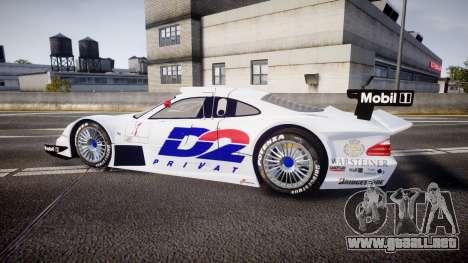 Mercedes-Benz CLK LM 1998 PJ1 para GTA 4 left
