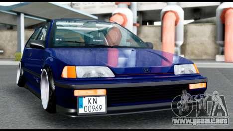 Honda Civic 4gen JDM para la visión correcta GTA San Andreas