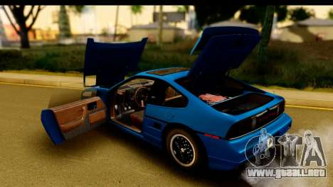 Pontiac Fiero GT G97 1985 HQLM para visión interna GTA San Andreas