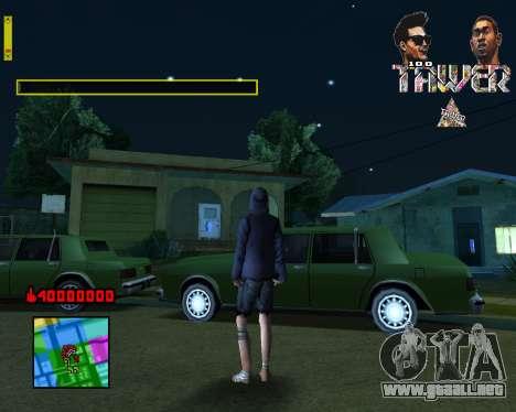C-HUD Tawer By Flocky para GTA San Andreas segunda pantalla