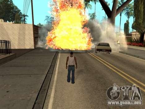 New Realistic Effects 3.0 para GTA San Andreas tercera pantalla