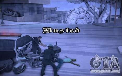 ENBSeries Wade Coronos para GTA San Andreas tercera pantalla