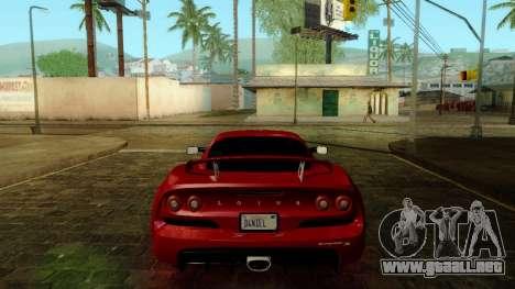 ENB Kenword Try para GTA San Andreas octavo de pantalla