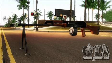 MG from GTA 5 para GTA San Andreas