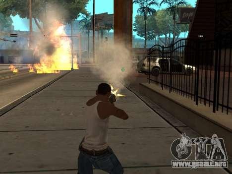New Realistic Effects 3.0 para GTA San Andreas sucesivamente de pantalla