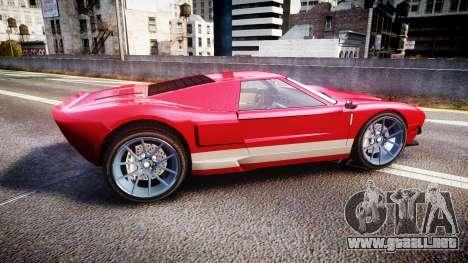 Vapid Bullet 2015 Facelift para GTA 4 left