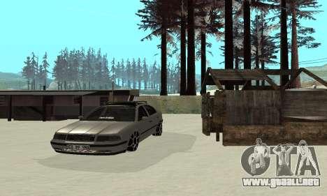 Skoda Octavia Winter Mode para la vista superior GTA San Andreas
