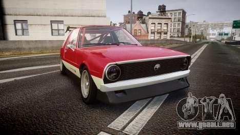 Declasse Rhapsody Camber para GTA 4
