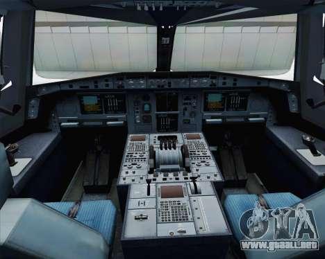 Airbus A380-800 F-WWDD Etihad Titles para visión interna GTA San Andreas