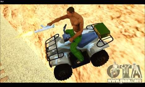 ATV Army Edition v.3 para la visión correcta GTA San Andreas