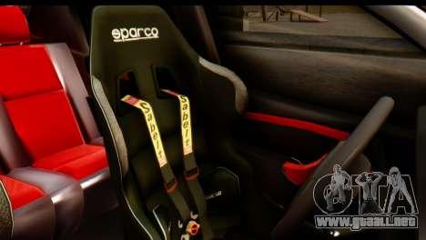 Dacia Logan MXP para GTA San Andreas vista hacia atrás