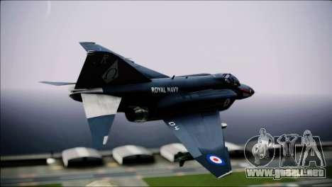 F4 Royal Air Force para GTA San Andreas left