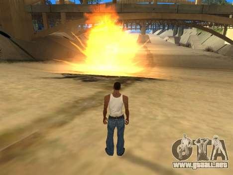 Realistic Effects v3.4 by Eazy para GTA San Andreas tercera pantalla