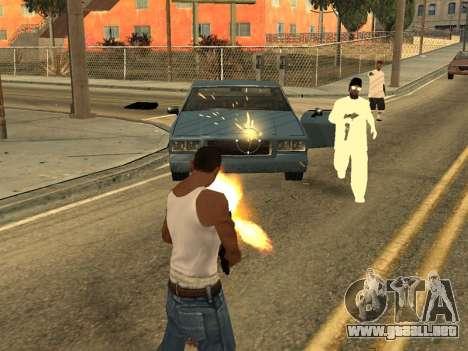 Realistic Effects v3.4 by Eazy para GTA San Andreas segunda pantalla