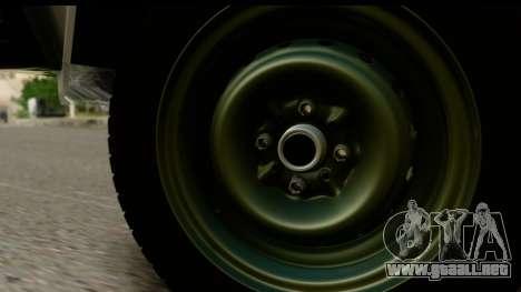 VAZ 2107 Flujo para la visión correcta GTA San Andreas