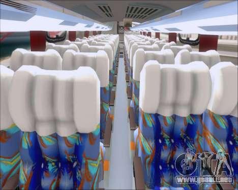 Busscar Vissta Buss LO Pullman Sur para visión interna GTA San Andreas