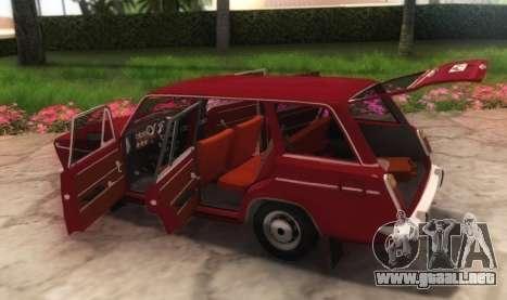 VAZ-21032 v2.0 para GTA San Andreas vista hacia atrás