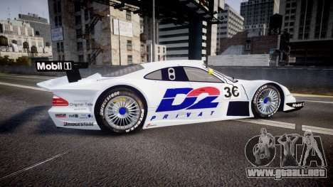 Mercedes-Benz CLK LM 1998 PJ36 para GTA 4 left