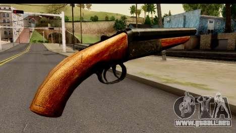 Sawnoff Shotgun HD para GTA San Andreas segunda pantalla