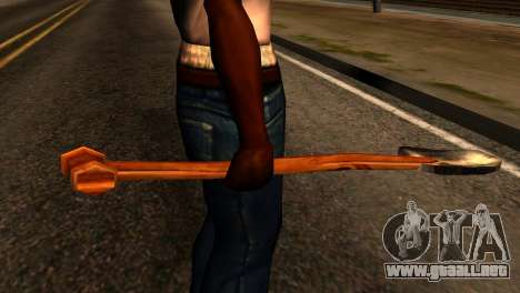 Shovel from Redneck Kentucky para GTA San Andreas tercera pantalla