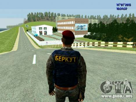 El Capataz Del Águila para GTA San Andreas tercera pantalla