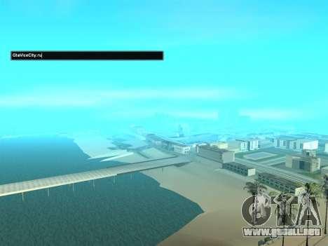 SampGui estilo Abstrego para GTA San Andreas segunda pantalla