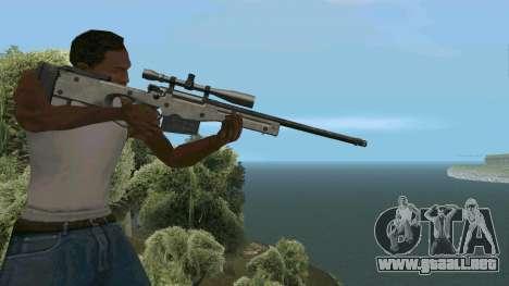 Metal AWP L96A1 para GTA San Andreas