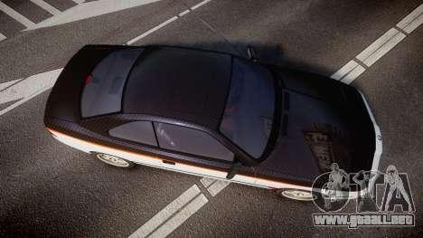 BMW E31 850CSi 1995 [EPM] Carbon para GTA 4 visión correcta