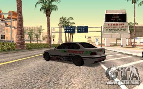BMW M3 E36 VCDT para GTA San Andreas left