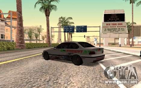 BMW M3 E36 VCDT para GTA San Andreas left