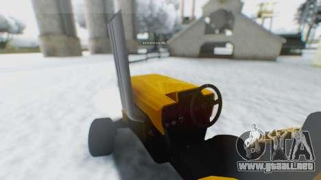 Tractor Kor4 para GTA San Andreas left
