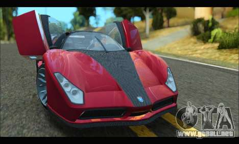 Grotti Cheetah v3 (GTA V) (SA Mobile) para GTA San Andreas left