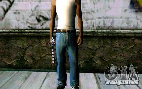 Blue Dragon Deagle para GTA San Andreas sucesivamente de pantalla