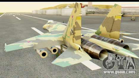 SU-35 Flanker-E ACAH para GTA San Andreas left