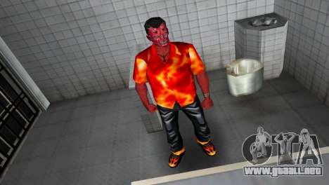 Devil Skin para GTA Vice City sucesivamente de pantalla
