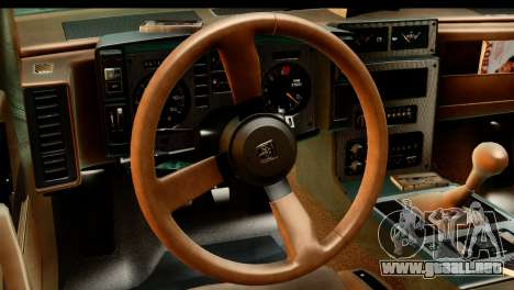 Pontiac Fiero GT G97 1985 HQLM para la visión correcta GTA San Andreas