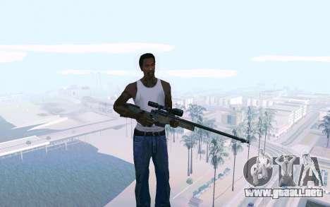 AWP L96 para GTA San Andreas segunda pantalla