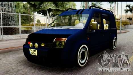 Ford Transit Tourneo Connect Camli Van para GTA San Andreas