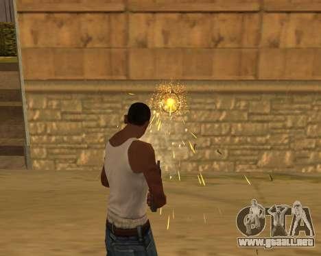 Ledios New Effects para GTA San Andreas segunda pantalla