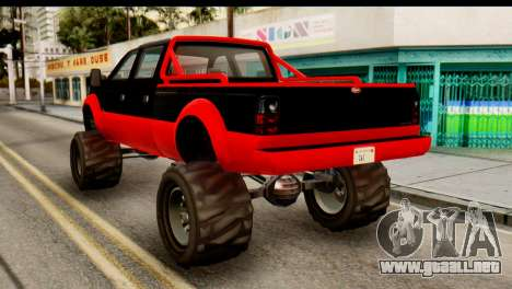 GTA 5 Vapid Sandking XL para GTA San Andreas left