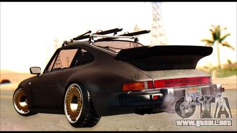 Porsche 911 1980 Winter Release para GTA San Andreas left