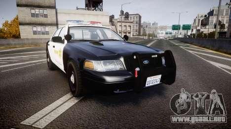 Ford Crown Victoria 2011 LASD [ELS] para GTA 4