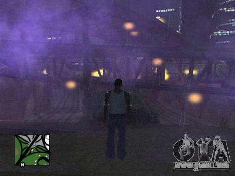 Plaza de radar de GTA 5 para GTA San Andreas tercera pantalla