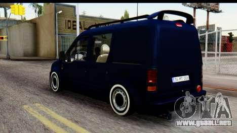 Ford Transit Tourneo Connect Camli Van para GTA San Andreas left