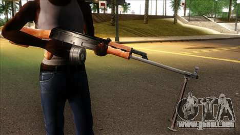 MG from GTA 5 para GTA San Andreas