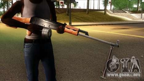 MG from GTA 5 para GTA San Andreas tercera pantalla