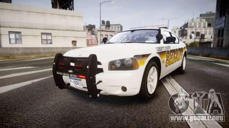 Dodge Charger 2006 Sheriff Liberty [ELS] para GTA 4